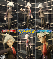 Pokemon Papercraft ~ Steven Stone  ~ by SuperRetroBro