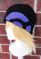 Pokemon X and Y Trainer Hat - Black and Purple by akiseo