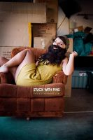 Bearded Lady ID by stuckwithpins