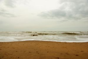 North Sea beach 5 by steppelandstock