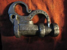 9th-10th century padlock by jakepog