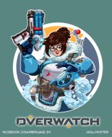 [OVERWATCH] Mei by LaineKeith