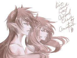Dio and Ley by AnnCalina