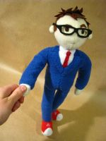Tenth Doctor Who plush by chu-po-po