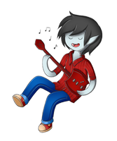Marshall Lee by RocstanLove