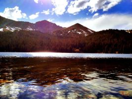 North Fork Lake in Colorado by blhewes