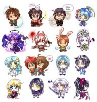 mashimaru chibis by chicharon