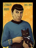 Spock by Greykitty