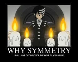 SYMMETRY by DarkMysticRose