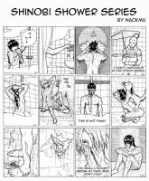 Shinobi Shower Series by nackmu