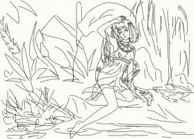 In the Shade sketch by anelphia