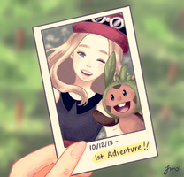 First Adventure by pokeabubble