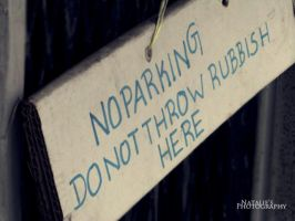 No Parking. by c-repuscolo