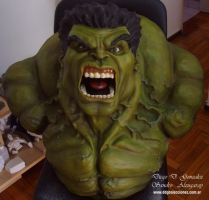 Hulk Bust life size 03 by ddgcom