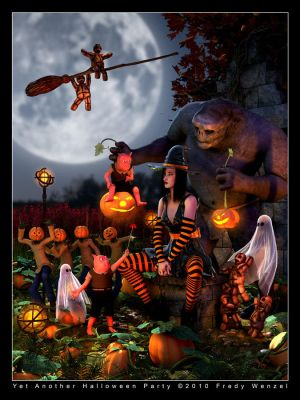 Yet Another Halloween Party by Fredy3D