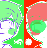 John and Dave Personal Icon by c4stl3