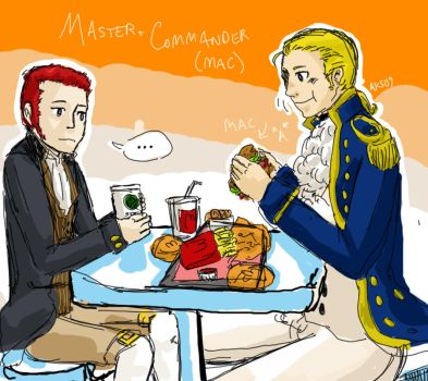Master and Commander: Big MAC by Rin-Uzuki