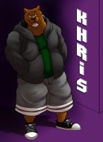 Khris the Brown Bear by SiriusDog