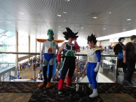 Otakon 2012 - Dragonball Z Cosplay Group by Angel1224