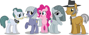 Pinkie Pie's Family by Vector-Brony
