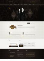 Specter and Ross - Web design for law firm by SycylianBeef