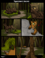 Tigerclaw's Secret - Page 1 by crf450r9
