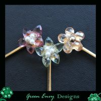 Rosie's hairclips by green-envy-designs