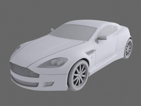Aston Martin DB9 Coupe WIP by heretik66