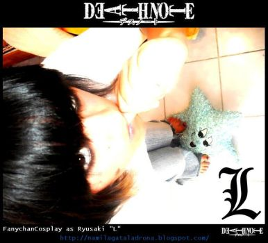 L Death Note Cosplay by FanychanCosplay