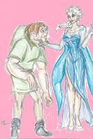Quasimodo and Elsa by theaven
