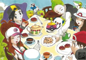 Pokemon Trainer's Tea Cup by superhideki