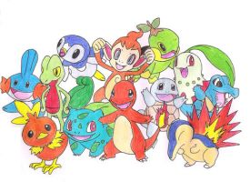 Meet the Starter pokemon by ImotepNicholas