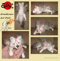 Amaterasu Art Doll by Killslay-steelclaw