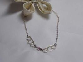 Sweetheart Anklet by LadySiha