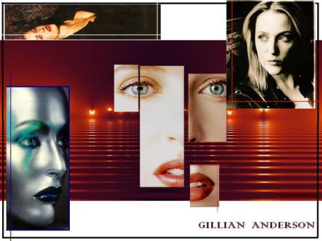gillian anderson by xcully