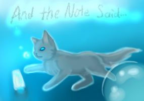 The Cat and the Note by Hailbeat