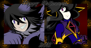 Happy Halloween 2011 by Kamira-Exe