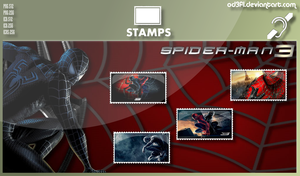 Stamps - 2007 - Spider-Man 3 by od3f1