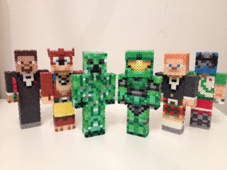 Achievement Hunter Team by RetroNinNin