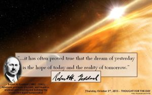 Thought for the Day - October 3rd, 2013 by ebturner