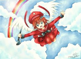 Flying Realm - 3DS Console tan -for Red Romanov by YumeStar101
