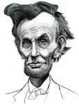 Abraham Lincoln by Caricature80