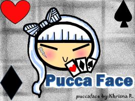 cant read my PUCCA FACE by khrisi