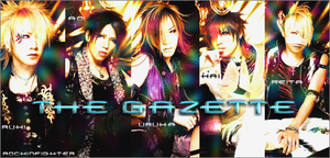 GazettE Banner by RockInFighteR