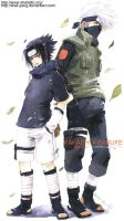 kakashi and sasuke II by shel-yang