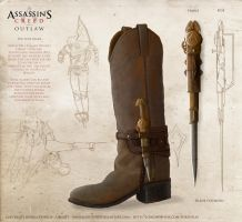 Assassins creed boot weapon (compressed) by JoshuaDunlop