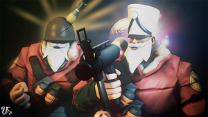 Team Fortress 2 (TF2) - Soldiers by ViewSEPS