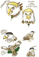 SnK doodles - Survey Flock by Hanatsuki89