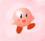 just kirby by Koko-Kat