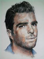 Zachary Quinto by LauraMcCabe90